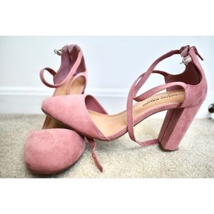 Rose Pink Heels
